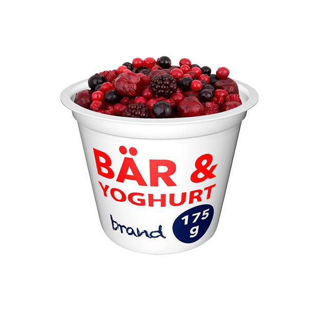 Mobilanpassade hero-bilder yoghurt