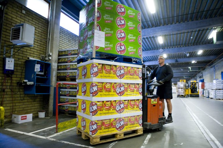 Produktdatakvalitet, logistik