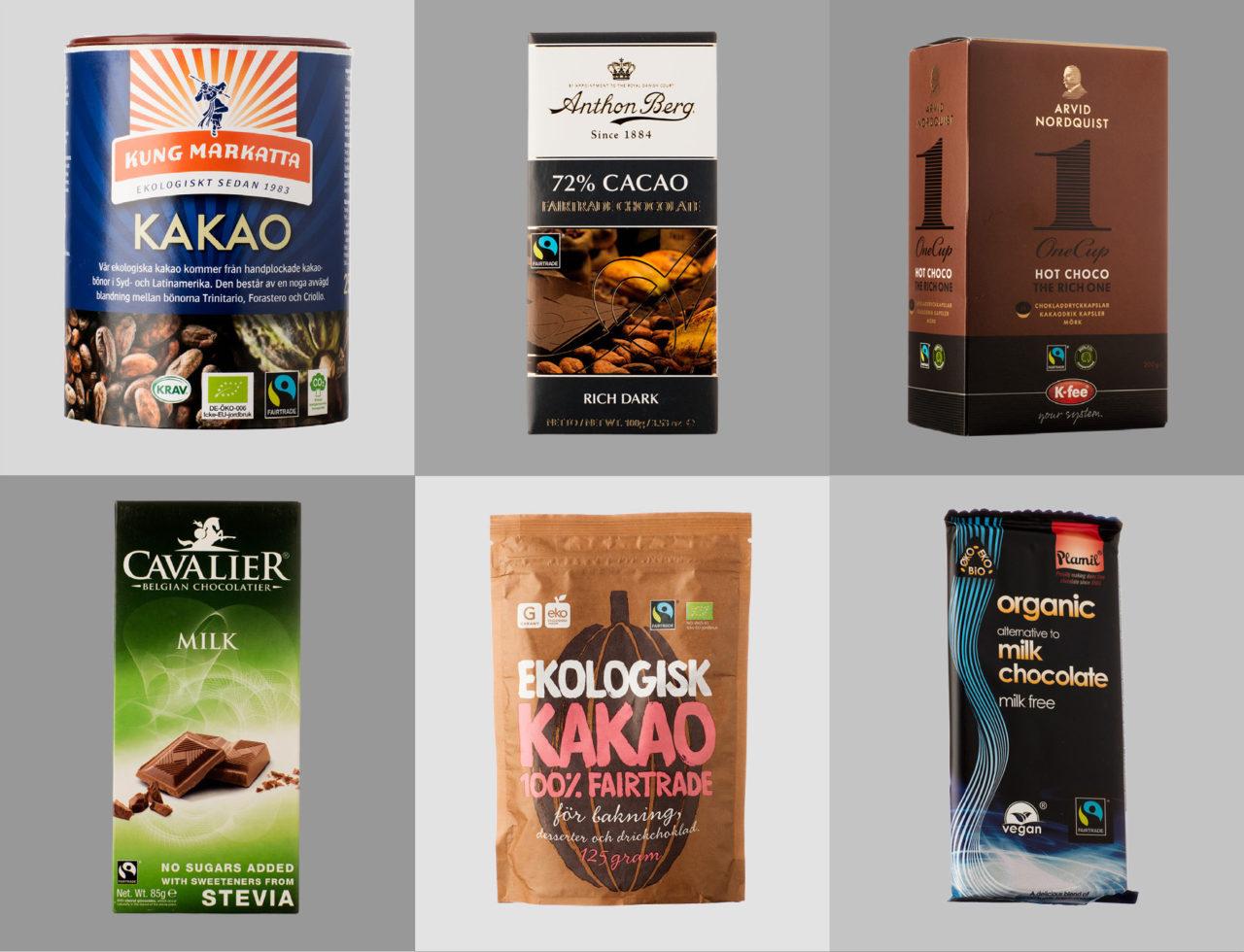 Gruppbild Fairtrade-märkt choklad